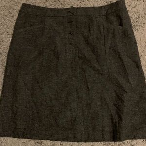 H&M wool mini skirt